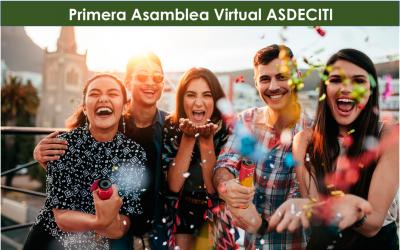 Primera Asamblea Virtual ASDECITI con grandes premios