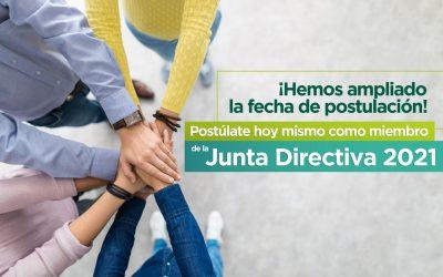 Sé parte de la Junta Directiva 2021