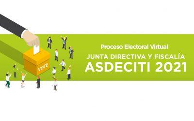 Votaciones Junta Directiva y Fiscalía 2021