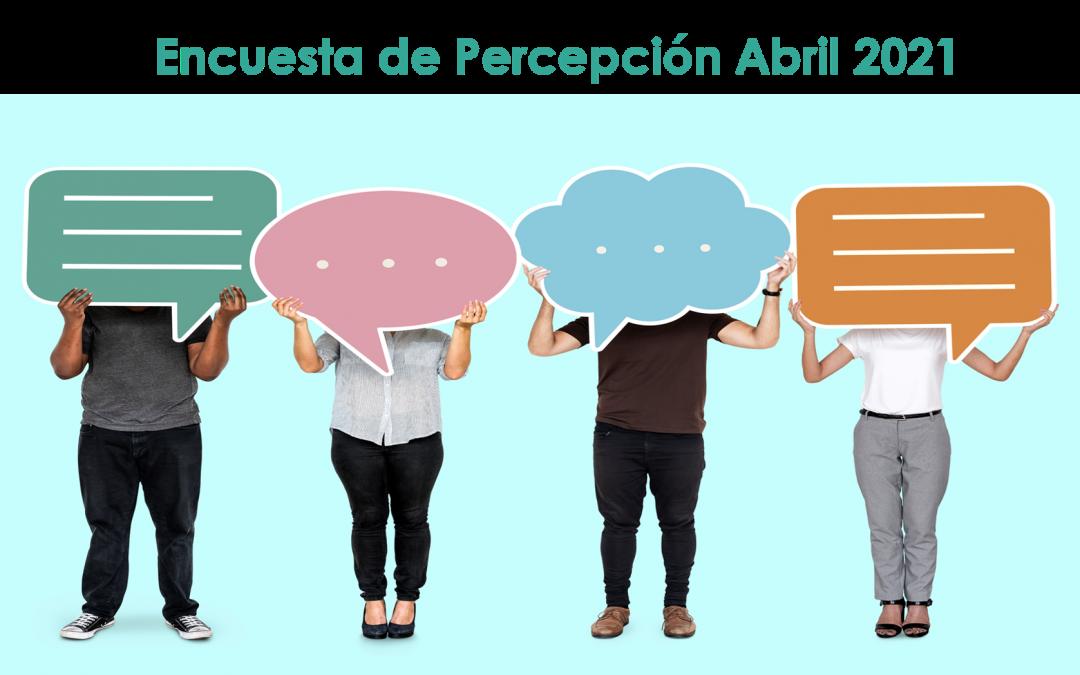 Completa la Encuesta de Percepción y Participa en el Sorteo