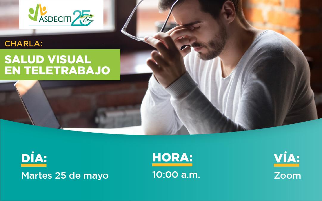 Charla Salud Visual en Teletrabajo