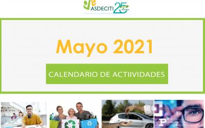 Calendario de Actividades Mayo 2021