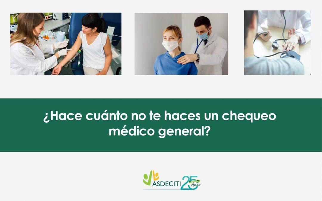 Charla: Importancia de los chequos médicos generales