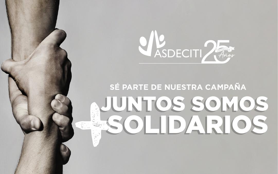 Campaña Juntos Somos + Solidarios