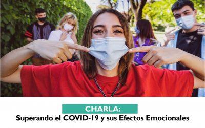 Charla: Superando el COVID-19 y sus Efectos Emocionales