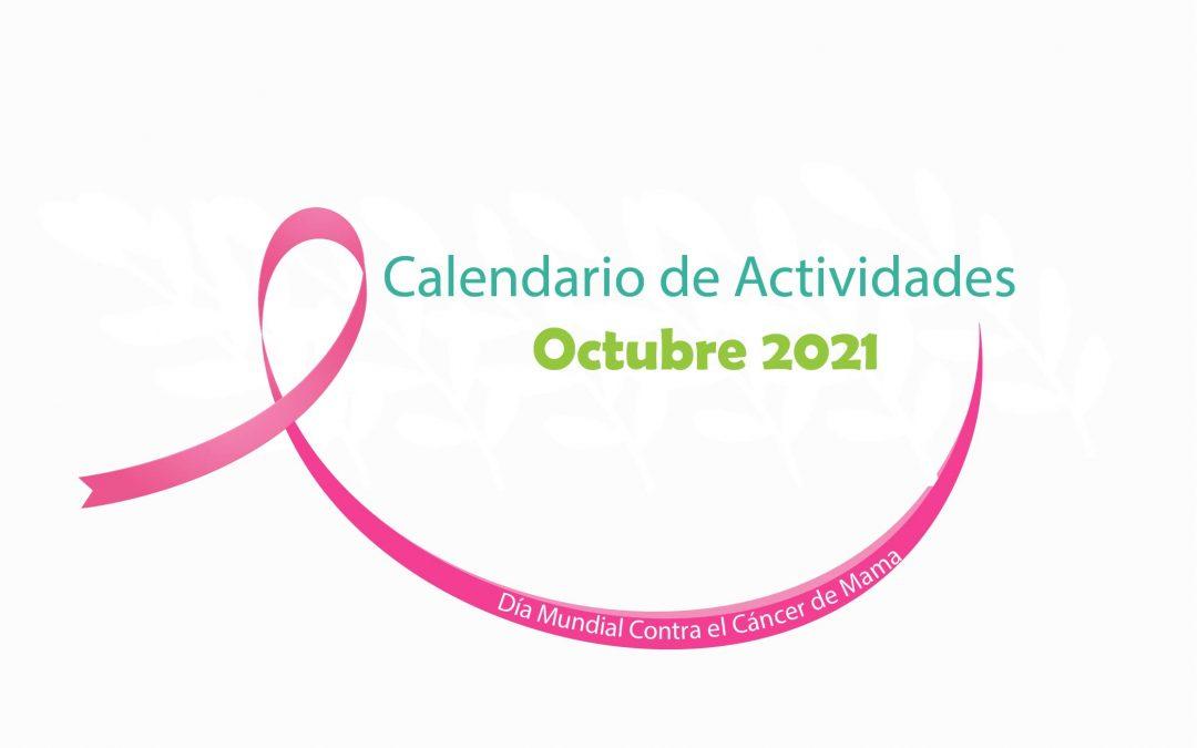 Calendario de Actividades Octubre