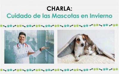 Charla: Cuidado de las Mascotas en Invierno