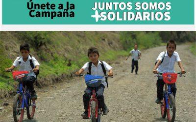 Campaña Juntos Somos + Solidarios: Yo Impulso